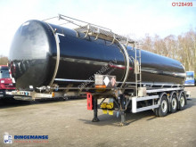 Crossland Bitumen tank inox 33.4 m3 + heating / ADR/GGVS semi-trailer