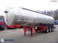 semirimorchio Maisonneuve Fuel tank inox 39.2 m3 / 6 comp.