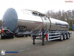 semirimorchio General Trailers Heavy oil tank inox 28.2 m3 / 1 comp