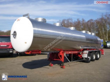Magyar Chemical tank inox 31 m3 / 1 comp semi-trailer