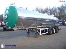 trailer Maisonneuve Chemical tank inox 30 m3 / 1 comp