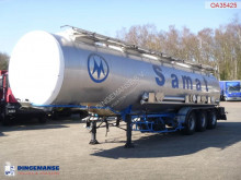 semi reboque BSLT Chemical tank inox 34 m3 / 4 comp