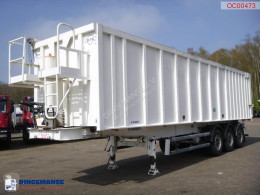 Robuste Kaiser Tipper alu / chssis steel 49 m3 /waterclosed body semi-trailer