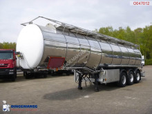 Indox Food tank inox 32.7 m3 / 2 comp semi-trailer