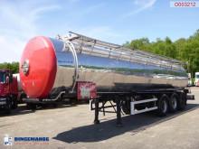 Magyar Food tank inox 30 m3 / 1 comp semi-trailer