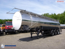 semi reboque nc Chemical tank inox 35 m3 / 3 comp