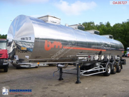 BSLT Chemical tank inox 33.6 m3 / 4 comp semi-trailer