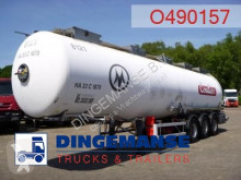 semi reboque Magyar Chemical tank inox 37.4 m3 / 1 comp