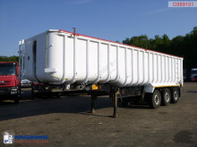 semirimorchio General Trailers Tipper alu / steel 41 m3 + tarpaulin