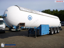 Robine Gas tank steel 49 m3 + pump semi-trailer