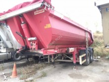 Fruehauf construction dump semi-trailer