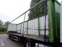 damaged tautliner semi-trailer