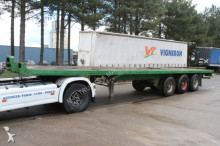 Pacton BPW - AIR SUSPENSION - VERY STRONG PLATFORM - STEEL PLATFORM semi-trailer