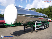 Crossland Food tank inox 30 m3 / 1 comp semi-trailer