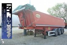 Piacenza semirimorchio vasca ribaltabile alluminio 24m cubi usata semi-trailer