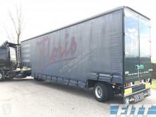 trailer Tracon Uden 1 as gestuurde dieplader met schuifzeilen opbouw