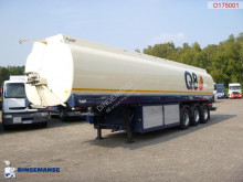 EKW Fuel tank alu 40 m3 / 6 comp + dual pump/counter semi-trailer
