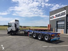 D-TEC Porte containers D-TEC NEUVE multipositions - DISPO sur parc - LOA possible semi-trailer