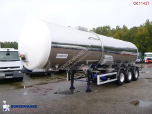Indox Food tank inox 30.7 m3 / 1 comp semi-trailer