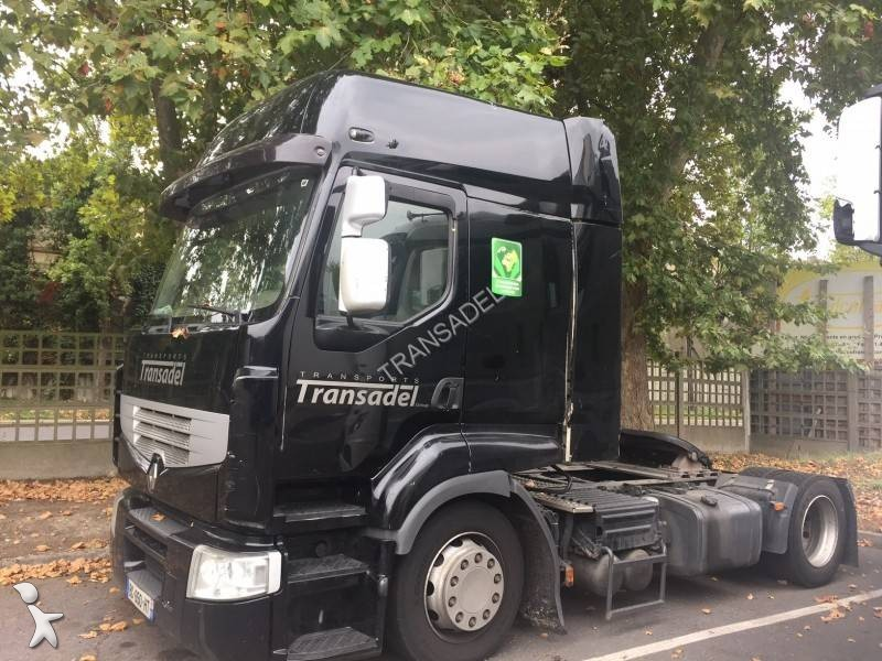 autre semi renault renault trucks premium noir 1 essieu occasion n 2274264. Black Bedroom Furniture Sets. Home Design Ideas