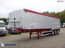 Fruehauf Tipper trailer alu 55 m3 + tarpaulin semi-trailer