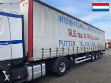 Van Hool sliding roof and Dhollandia semi-trailer