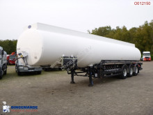 Indox Fuel tank alu 44 m3 / 6 comp + pump semi-trailer