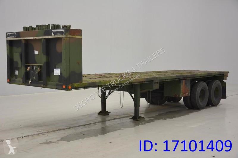 semi remorque nc plateau plateau 2 essieux occasion n 2280801. Black Bedroom Furniture Sets. Home Design Ideas