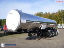 Clayton Food tank inox 30 m3 / 1 comp semi-trailer