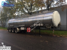 Burg Chemie 48600 Liter, Tank heater, ADR 28-11-2017,Max 4 Bar, 100c, 3 Compartments, Isolated semi-trailer