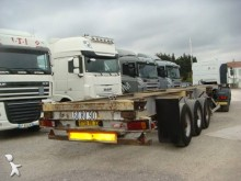 Titan container semi-trailer