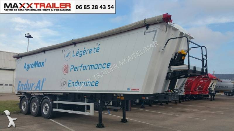 Fruehauf DISPO 2018 CEREALIERE 51m3 semi-trailer
