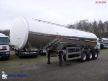 Clayton Food tank inox 30 m3 / 1 comp semi-trailer