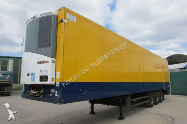 Used Schmitz Cargobull insulated semi-trailer SKO 24