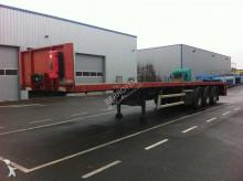 Floor flatbed semi-trailer