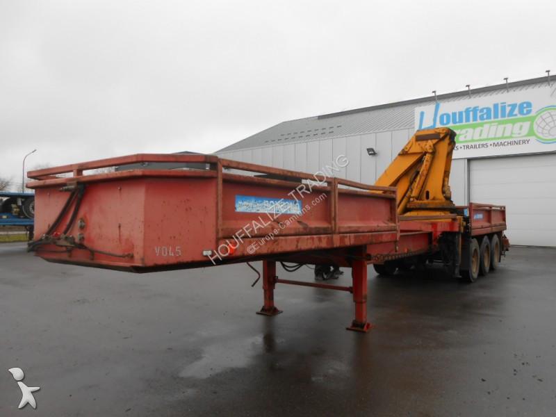 Semirremolque nc crane semi-trailer grue