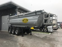 Meiller construction dump semi-trailer