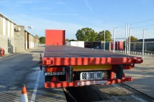 Trouillet flatbed semi-trailer