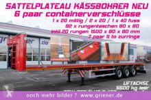 Kässbohrer SPS / PLATEAU / CONTAINER 20/40 RUNGENTASCHEN semi-trailer