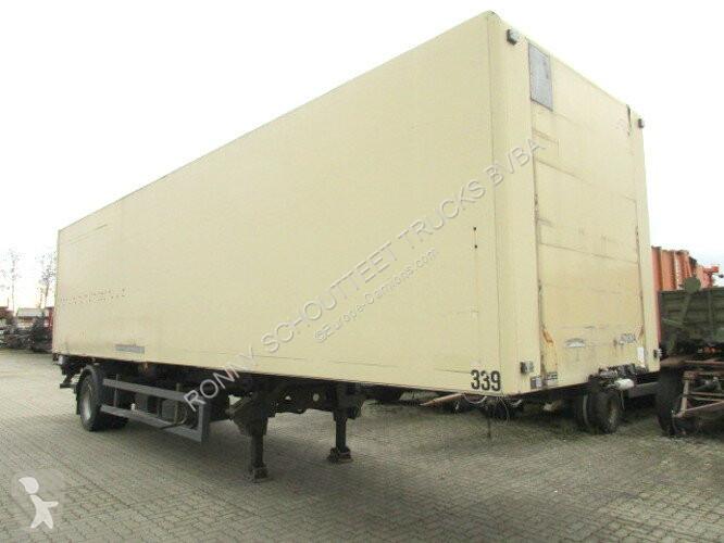 Kögel SVKA 10 SVKA 10, City-Koffer mit Isowänden semi-trailer