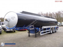 semi remorque nc Fuel / heavy oil tank alu 45 m3 / 1 comp + pump
