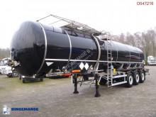 semi remorque LAG Bitumen tank inox 33.4 m3 / 1 comp