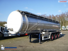 Burg Chemical tank inox 30 m3 / 1 comp semi-trailer