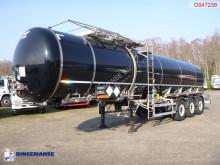 LAG Bitumen tank inox 33.4 m3 / 1 comp semi-trailer
