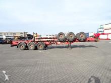 HFR stapel van 2x 40FT HC-chassis, BPW-assen Auflieger