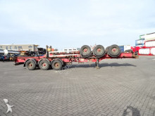 semirimorchio HFR stapel van 2x 40FT HC-chassis, BPW-assen