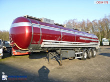 LAG Chemical tank inox 32.2 m3 / 2 comp semi-trailer