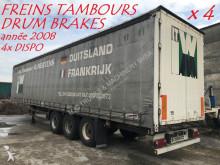 Schmitz Cargobull 4x SEMI REMORQUES - FREINS TAMBOURS - ESSIEUX BPW - ABS - 4 UNITEES IDENTIQUES semi-trailer