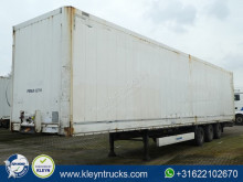 damaged semi-trailer