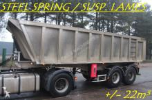semirremolque General Trailers TIPPER - BENNE +/- 22m³ - SUSP. LAMES - STEEL SPRING - GOOD CONDITION